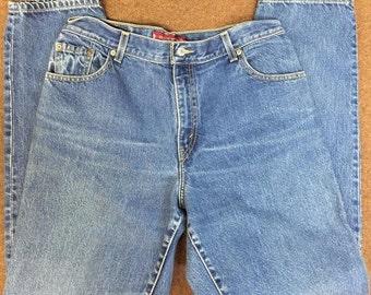 Vintage Levi's 550 Women's Mom Jeans Denim Size 14 Mis L High Waist