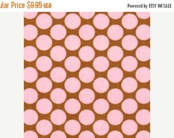 SALE 10% Off - FULL MOON Dot in Camel - Amy Butler  - Lotus collection - By the Yard