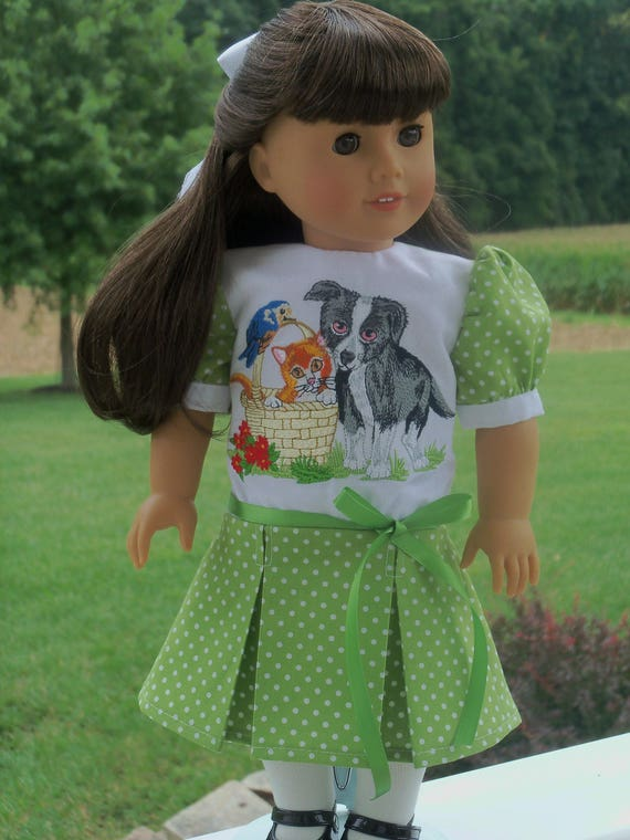 """SALE!  Early 1900's Victorian Dress / Doll  Clothes for American Girl Samantha, Rebecca  or other 18"""" Doll"""