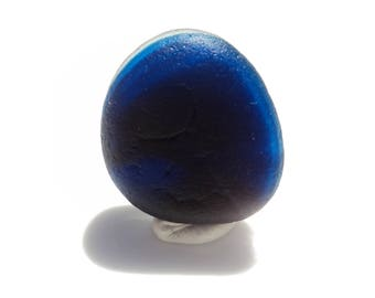 Collectors Seaglass -  Cobalt Blue Multi JulyV03 - from Seaham beach,  UK