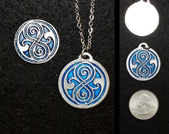 Doctor Who -  Seal of Rassilon Pin/Pendant/Magnet