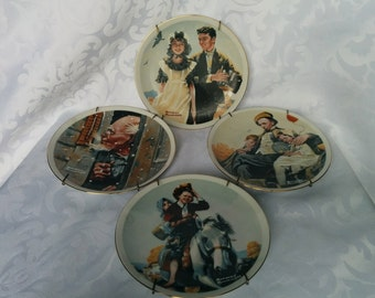 Norman Rockwell Collector Plates, Collector Plates, Norman Rockwell