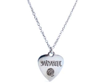 Yarnaholic Stainless Steel Necklace