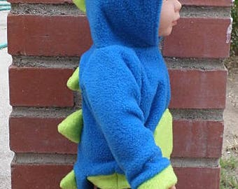 animal  dino hoodie for 18 inch dolls