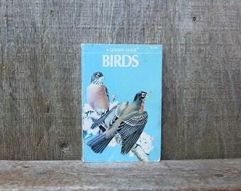 Vintage 1956 Pocket Guide Book of Birds / Bird Identification Book / Bird Field Guide Book