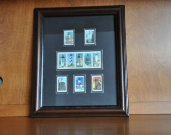 Framed 1995 Great Lakes Lighthouses