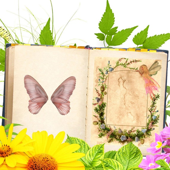 Faerie  Book of Shadows Page