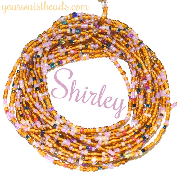 Waist Beads Custom fit ~Shirley ~ YourWaistBeads.com