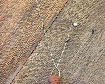 Sari Silk Necklace