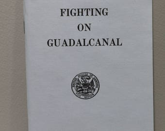 Booklet:  Fighting on Guadalcanal