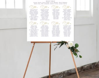 Seating Chart - Royal Gala (Style 0031)