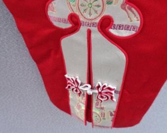 1950's Red Silk Satin Pants