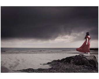 """Mounted Fine Art Photography Print - """"The Coming Storm"""""""