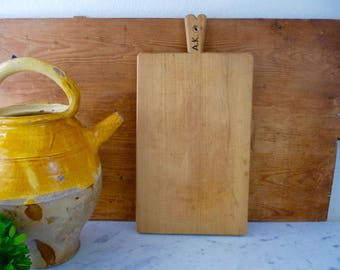 French Cutting Board, Vintage Cutting Board, French Butcher Block, Country Kitchen Decor, Rustic Serving Tray, French Decor