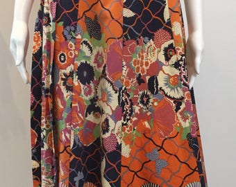 Beautiful 'Jake' 1970's Collier Campbell Skirt
