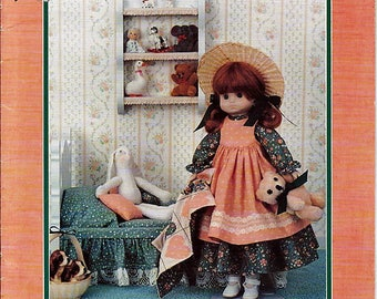 """Emma 14"""" Porcelain Look Doll Clothes Sewing Craft Pattern Td-827"""