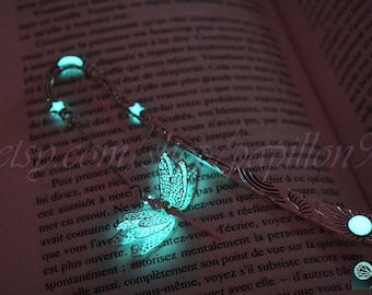 New Dragonfly BOOKMARK GLOW in the DARK