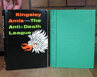 The Anti-Death League by Kingsley Amis - HC 1966 1st American Edition Ex-Library