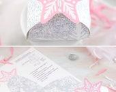Snowflake Gift Box Printa...