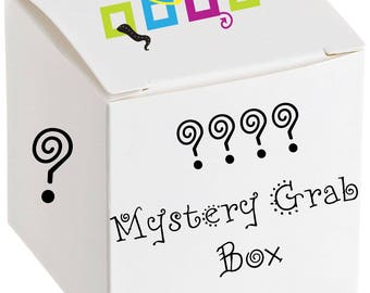Mystery Grab bag, Goodie Bag -  3-4 item Mystery bag