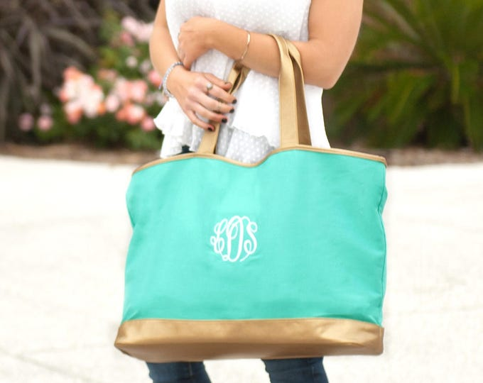 Cabana Collection Tote Bag, Monogrammed Tote Bag, Cabana Tote Bag, Monogrammed Tote Bags, Bridesmaid Gifts, Gifts for Her