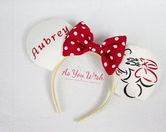 Personalized Fab 5 Minnie inspired customized ears all fab 5 and more characters available