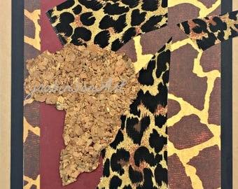 Africa Art Card