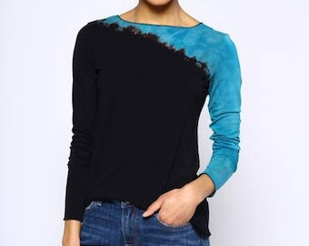 Parrot drift - long sleeve fitted tee