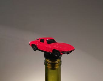 Corvette Wine Stopper, Corvette Gift, Corvette Owner, Car Wine Stopper, Man Cave Bar, Car Bottle Stopper, Car Show, Classic car Gift, Wine
