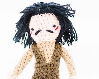 Inigo Montoya Toy - Inigo Montoya from Princess Bride Crochet Doll - Amigurumi Inigo Montoya