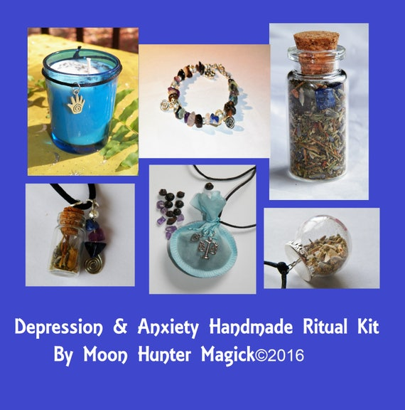 Depression & Anxiety Ritual Combo Kit Depression Aromatherapy Kit