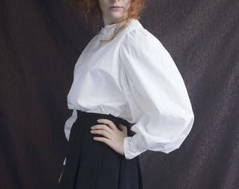 white blouse Edwardian