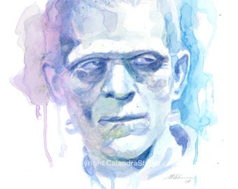 Karloff Original Painting