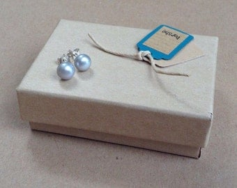 Pearl Studs, Grey Pearl Studs, Grey Studs, Grey Pearl Earrings, Silver Grey Pearl Earrings, Pearl Earrings,
