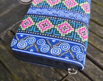 Tribal Wallet, Hippie Wallet, Gypsy Wallet, Ethnic Wallet, Boho Wallet, Womens Wallet, Mens Wallet, Handmade Wallet, Purse, Colorful Wallet