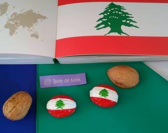 Flag Magnet Lebanon