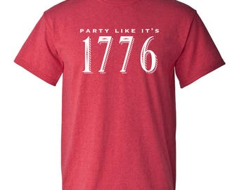 Party Like It's 1776 T-Shirt