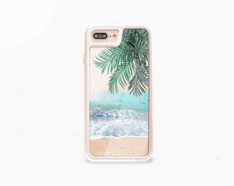 Beach iPhone 7 Case Gold iPhone 7 Plus Case Tough Summer iPhone 7 Case Tough Cute iPhone 7 Plus Case Rose Gold INTERCHANGEABLE iPhone Case