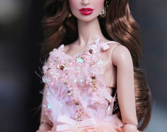 Midnight Spell Dress for Fashion Royalty (FR2, NuFace), Barbie doll