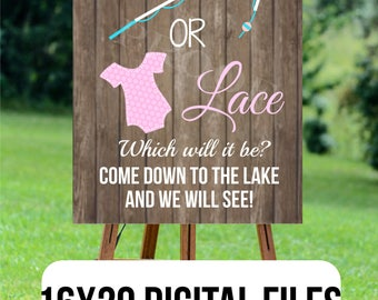 Designs for life 39 s best celebrations by atasteofeverything for Fishing gender reveal ideas