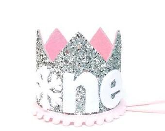 Winter Onederland || Winter Onederland Birthday Crown || Winter Wonderland Birtday || Snowflake Crown Party Hat || First Birthday Crown Girl