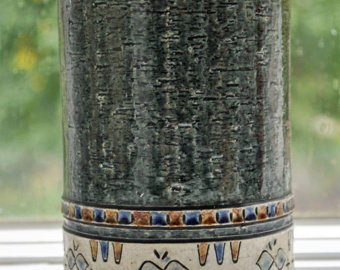 Yngve Blixt for Hoganas Vase Rare Swedish Mid Century Modern 1970