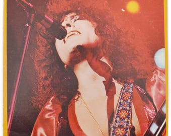 Vintage 70s T. Rex Light of Love Glam Rock Album Record Vinyl LP