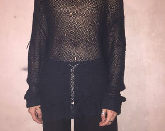 DAMIR DOMA cotton knitwear sweater