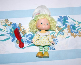 Lemon Meringue ORIGINAL Strawberry Shortcake doll, 1980s