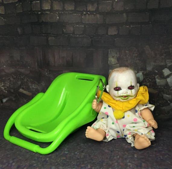 Hacksaw Killer Clown Mini Doll Set Undead Original Biohazard Baby