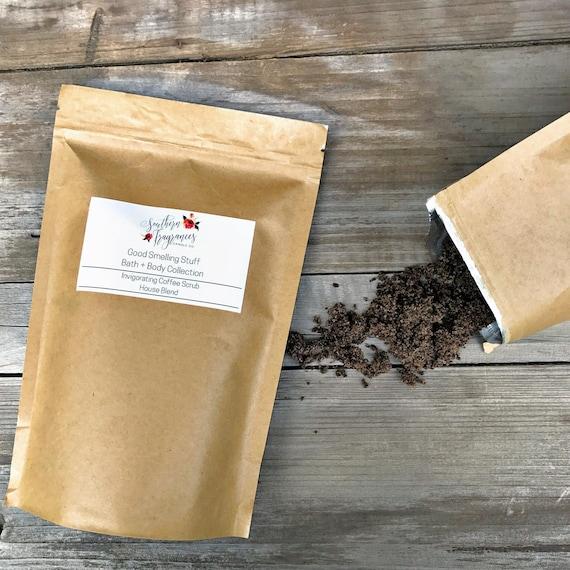 Invigorating Coffee Scrub | 12oz Resealable Bag | House Blend Scrub