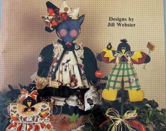 Mrs. Pi Wackett & Friends a Decorative Tole Painting Book