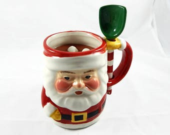 READY TO SHIP - Jumbo Santa Hot Chocolate & Marshmallow Candle