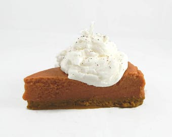 Pumpkin Pie Slice Candle